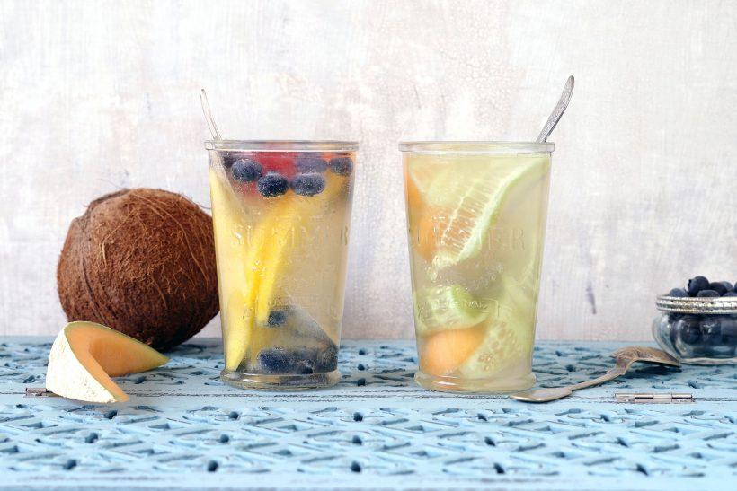 Wasserkefir aus Kokosnusswasser selber machen